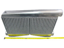 "CXRACING Universal Twin Turbo BigCore 3.5"" Thickness Intercooler 27""x16.5""x3.5"""