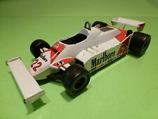HOTWHEELS ALFA ROMEO 179 - MARLBORO 22 MOTTA - F1 WHITE 1:25 - GOOD CONDITION
