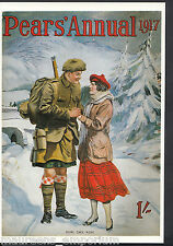 Advertising Postcard - Pears' Annual 1917, Scottish Soldier   BH6191