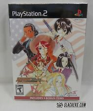SAKURA WARS So Long, My Love DELUXE New!! (PlayStation 2 2010) Bonus Discs RPG