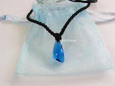 H2O Just Add Water DVD Swarovski Blue Crystal Mermaids Necklace