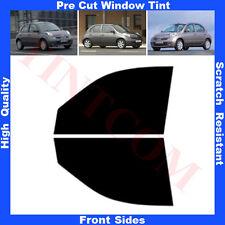 Pellicola Oscurante Vetri Auto Anteriori per Nissan Micra 5P 03-10 da 5% a 70%