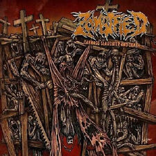 ZOMBIFIED-CARNAGE SLAUGHTER AND DEATH-CD-tormented-edge of sanity-facebreaker