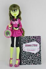 Rare HTF Monster High SDCC 2014 Iris Clops Doll W/ Diary Loose