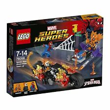 LEGO Super Heroes 76058 Spider-Man Ghost Riders Verbündete Team Up Marvel