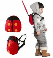 Baby Toddler Lady Bird Safety Walking Reins Backpack Harness with Strap
