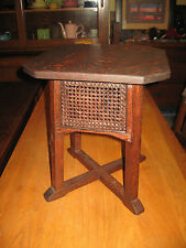 Arts & Crafts Signed Stickley Brothers/Quaint Furniture Tabourette Stand Oak
