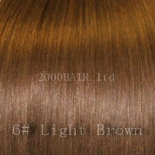 """18"""" Weft Clip in Remy Human Hair Extensions All Colour"""