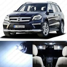 17 x Xenon White LED Interior Light Package For 2006-2011 Mercedes ML Class W164
