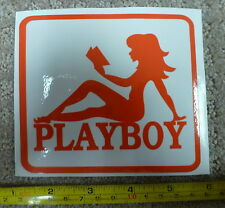 Playboy stickers  4.5 inch , 2 pieces Sticker -- Free Shipping