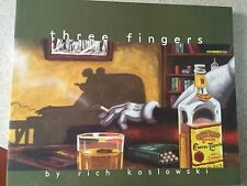 Three Fingers Paperback by Rich Koslowski  oversized  TPB tp