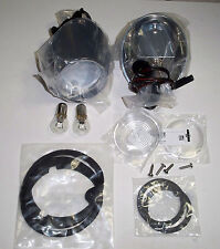 67-68 New Mustang Back Up Light Kit w/FoMoCo Original Lens Ford Tooling BG