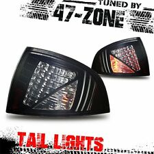 Stealth For 2000-2003 Nissan Sentra LED Black Housing Smoke Lens ABS Tail Lights