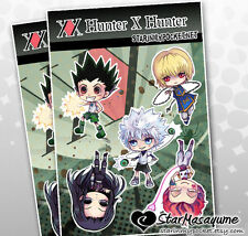 Hunter x Hunter Anime Chibi Stickers Sheet
