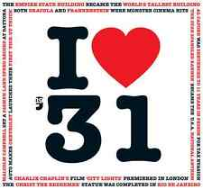 85th Birthday Gift - I Love 1931 Compilation CD Greetings Card - CD Card Company