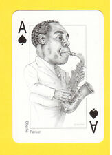 Charlie Parker Sax Saxophone Jazz Blues Music Spanish Playing Card