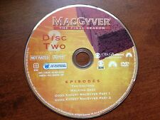 MacGyver - Season 7 Seven Disc 2 Only Replacement Dvd Disc Two - Final Season