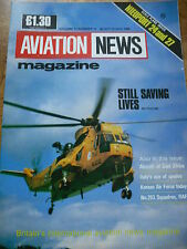 INTERNATIONAL AVIATION NEWS MAG V17#12 SCALE PLANS NEUPORT 24 & 27 RAF 263 SQUAD