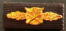 ✚5252✚ German ribbon bar after WW2 1957 pattern Luftwaffe Close Combat Badge
