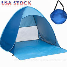 Portable Beach Tent Shelter Sun UV Shade Pop Up Canopy Fishing Camping Picnic