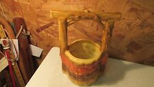 Antique Rumrill Pottery Wishing Well Planter