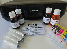 Edible Image Printer Starter Kit Canon IP7250 Refill Ink Cartridges, Wafer Paper