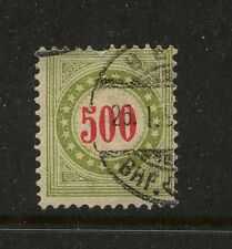 Switzerland  J28a  used postage due stamp       MS0115