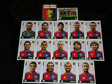 FIGURINE CALCIATORI PANINI 2006-07 SQUADRA GENOA CALCIO FOOTBALL ALBUM
