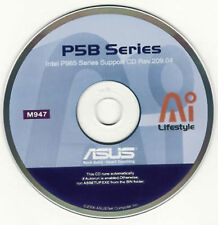 ASUS P5B-E AND P5B-E DELUXE Motherboard Drivers Installation Disk M947