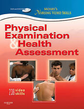 Physical Examination and Health Assessment by Mosby (DVD, 2011)