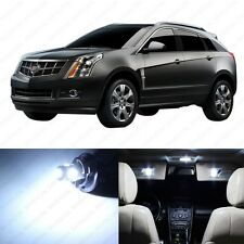 15  x Xenon White LED Interior Light Package For 2010 - 2013 Cadillac SRX