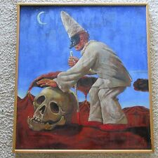 FRANK GUTIERREZ PAINTING  SURREALISM ABSTRACT MUSEUM QUALITY MODERNISM CHICANO