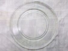 """16"""" Diameter Replacement Round Glass Microwave Turntable Plate 9-5/8"""" Track A099"""