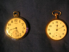 4 Antique Pocket Watches for repair - Oris-Standard-Jetka-Elgin (Supreme IWC Co)