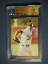 DAVID PRICE 2007 Just Minors Just Rookies #JR-47 RC BGS GEM MINT 9.5 Rays,Tigers