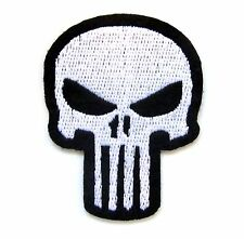 Punisher Iron On Patch- Marvel Comic Superhero Appliques Craft Sew Badge