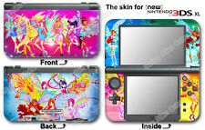 Winx Club Amazing Cute Vinyl Skin Sticker Decal Cover #1 for NEW Nintendo 3DS XL