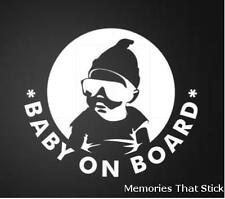 THE HANGOVER BABY ON BOARD Small Funny Car Van Window Bumper Vinyl Decal Sticker