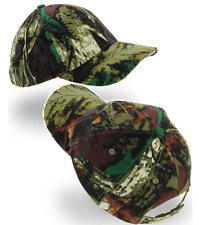 NGT CAMO BASEBALL CAP WITH LED LIGHTS IDEAL FOR CARP FISHING HUNTING OR SHOOTING