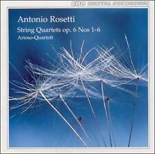 Antonio Rosetti: String Quartets, Op. 6, Nos. 1-6, New Music