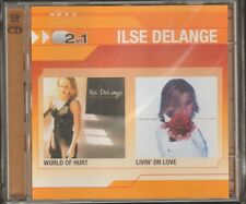 ILSE DeLANGE World of Hurt Livin' on Love 2 CD 26 track 2008 NEW SEALED 2in1