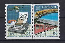 Griechenland 1988 postfrisch Europa CEPT MiNr. 1685C-1686C