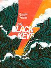 "THE BLACK KEYS ""HANGOUT MUSIC FESTIVAL"" 2011 GULF SHORES,ALABAMA CONCERT POSTER"