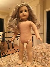American Girl Pleasant Co Doll Blonde Wavy Light Freckles Brown Eyes EUC