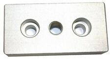 UP TO 20 80/20 15 Series Aluminum Center Tap Base Plate 1.5x3 w 7/16-14 Tap 2138