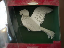 Hallmark Keepsake Ornament - Lovely Dove - 2000  - Laser Gallery - Lightable
