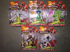 5 POWER RANGERS Dino Charge VILLAIN FURY VIVIX BONES CURIO PUZZLER Action Figure