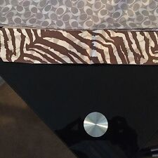 Coach Ponytail Scarves Lot Of 2