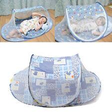 Bébé Enfant Moustiquaire Lit Matelas Pliable Tente Coussin Confort Baldaquin