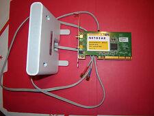 NETGEAR WN311B-100NAS N300 Wireless Adapter IEEE 802.11b/g/n PCI WPA2